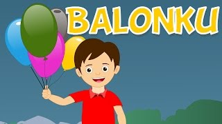 "Balonku ada lima | Lagu anak TV | ""My Baloons"" Song in Bahasa Indonesia"