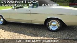 1972 Dodge Polara  for sale in Nationwide, NC 27603 at Class #VNclassics