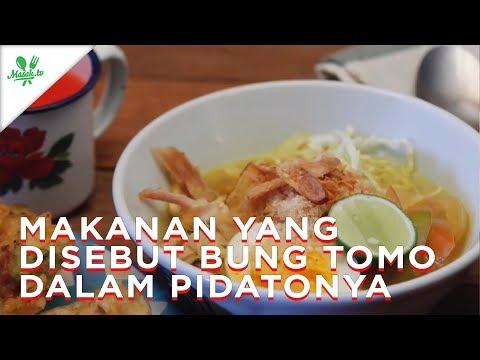 Selamat Hari Pahlawan! Makanan-makanan ini pernah disebut dalam pidato Bung Tomo, lho!