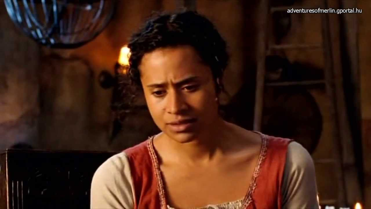 Merlin And Morgana Kiss Merlin S01E04 Favourit...