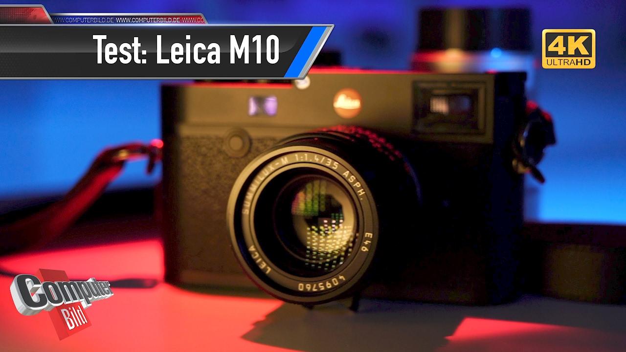 Leica M10: Vollformatsensor-Kamera im Praxis-Test - YouTube