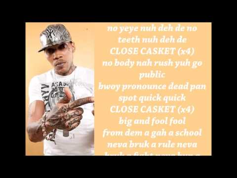 Vybz Kartel - Close Casket Lyrics January 2017