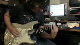 "Gary Schutt plays Van Halen ""Little Guitars"""