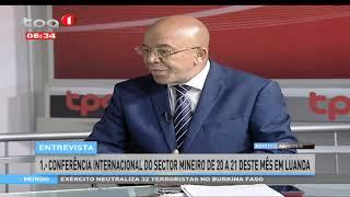 1ª Conferência Internacional do Sector Mineiro em Luanda