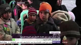 شاهد المأساة.. أطفال سوريا بلا لقاح أو تطعيم