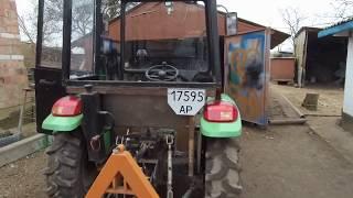 Бюджетная  кабина на минитрактор за   10 тысяч  гривен!!!