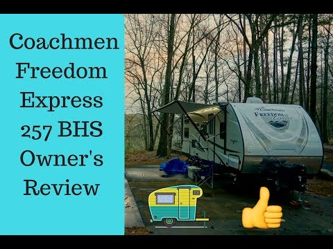 2017 Coachmen Freedom Express 257 BHS Review Owner's Review