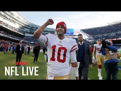 Will Jimmy Garoppolo get another win for the San Francisco 49ers this week? | NFL Live | ESPN