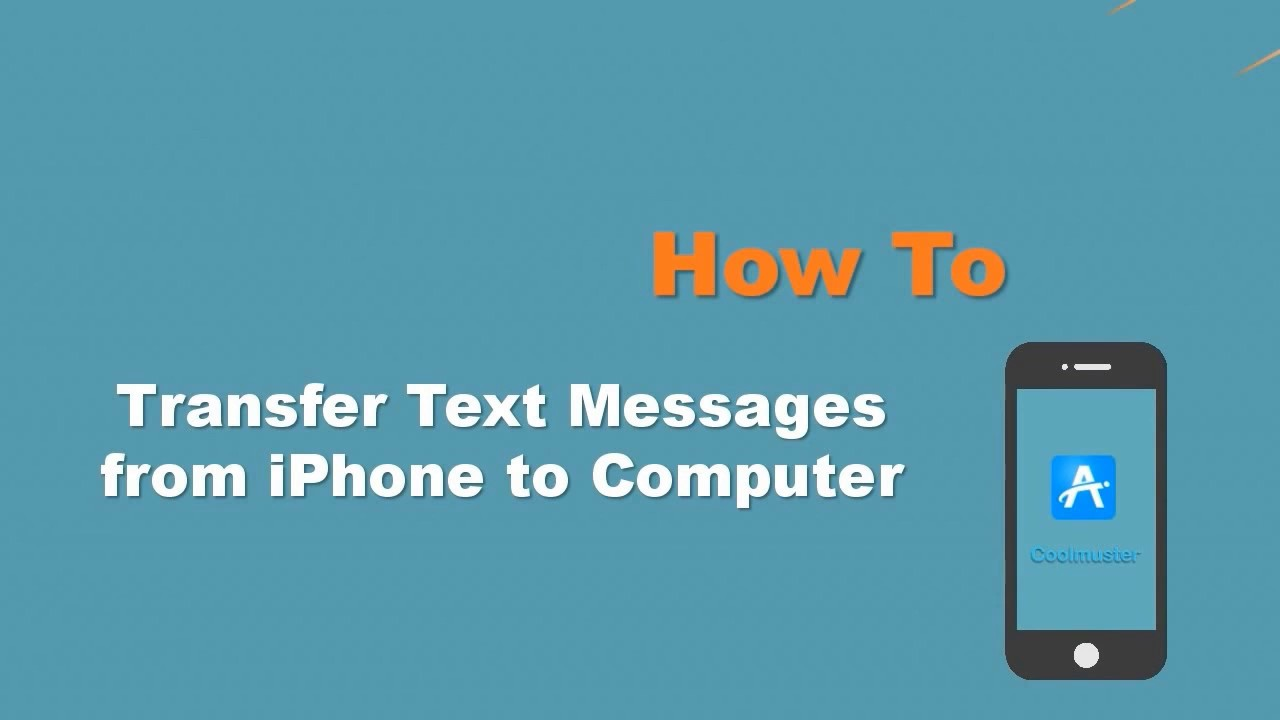 How to Transfer Text Messages from iPhone to Computer? [Fixed]