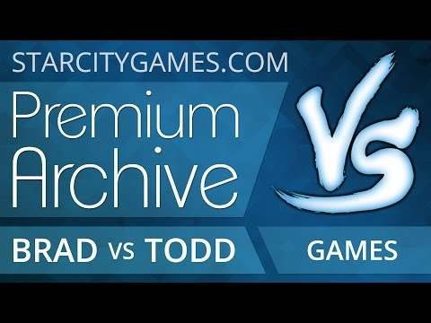 8/21/2015 - Brad Nelson (Grixis Control) Vs Todd Anderson (G/U Infect) - Modern