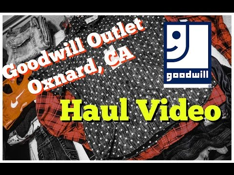 Goodwill Outlet Haul Oxnard California Reselling on eBay