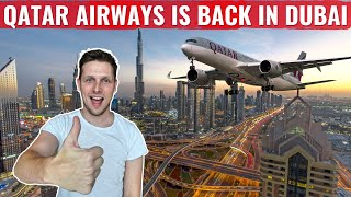 Review: Qatar Airways is BACK in DUBAI - But THIS needs to CHANGE!
