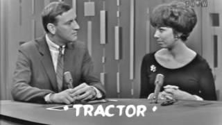 PASSWORD 1962-12-02 Phyllis Newman & Jack Carter