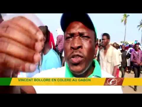 VINCENT BOLLORE EN COLÈRE AU GABON