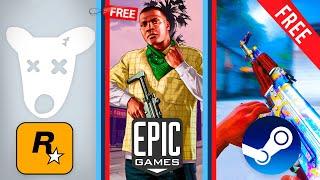 ЛУЧШИЕ БЕСПЛАТНЫЕ ИГРЫ В STEAM/EPIC GAMES STORE/ROCKSTAR LAUNCHER/ORIGIN/UPLAY/GOG.ТЫ ОФИГЕЕШЬ!!!