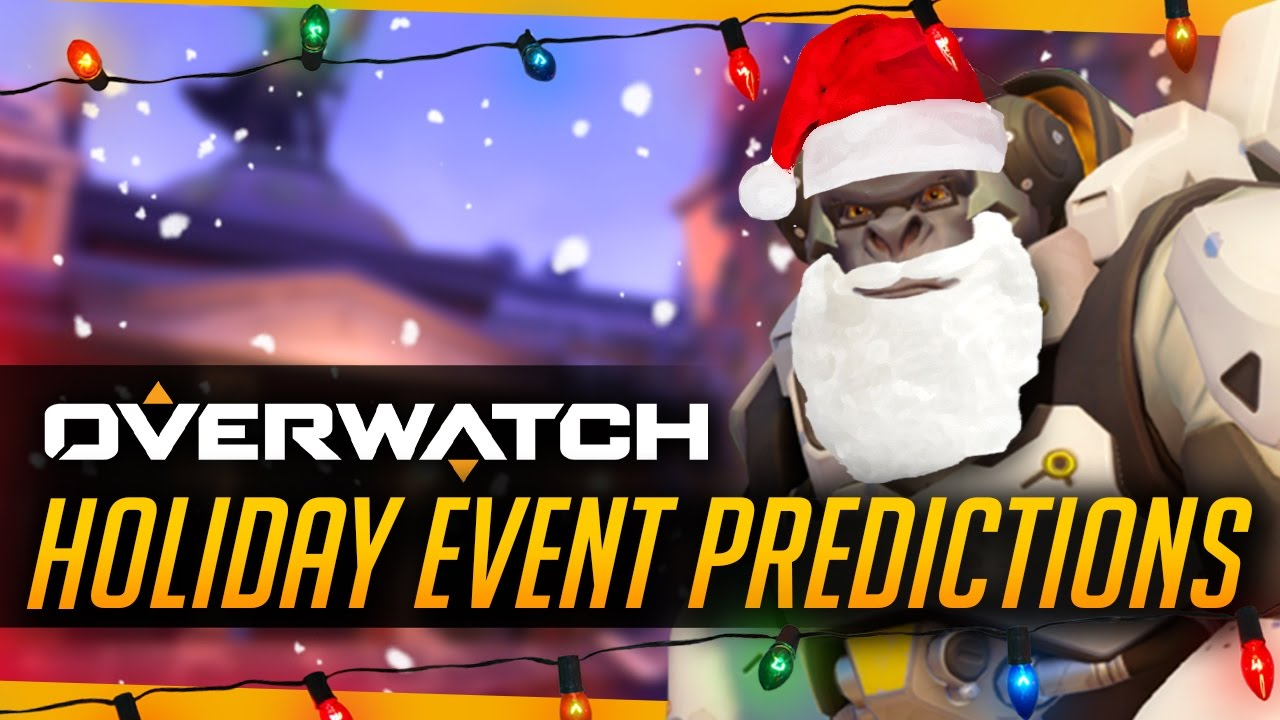 overwatch holiday event predictions christmasnew years skins brawl youtube
