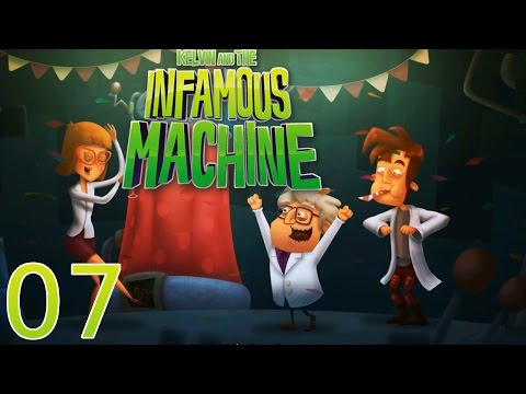 Kelvin and the Infamous Machine - [07/07] - [Ch.4: End] - PC English Walkthrough |