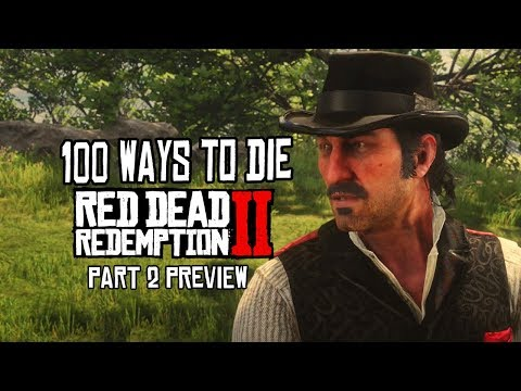 100 Funny Ways to Die: Red Dead Redemption 2 PREVIEW thumbnail