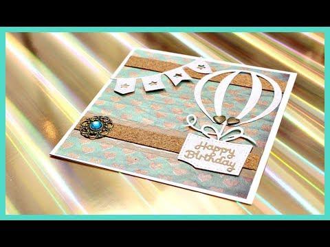 BASTELN MIT PAPIER | Karten basteln #7 für Geburtstag | DIY Anleitung | Bastelideen