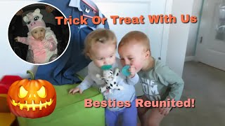 Baby Best Friends Reunited! Halloween Vlog/ Day In The Life Of A Stay At Home Mom