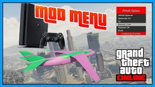 PS4! MOD MENU | GTA 5 + DOWNLOAD (GTA V MODS) 1.76 Playstation 4