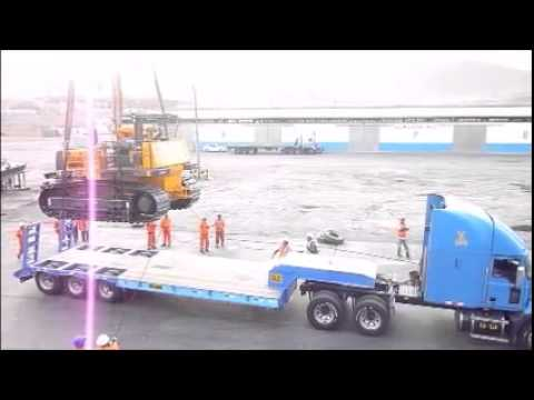 Andina Freight Project Cargo Recepcion - Pisco Perú