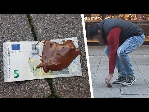 Geld von der Straße aufheben?! Soziales Experiment 💰 Artur Iz da