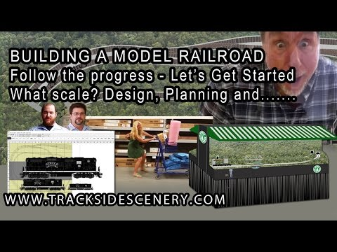 BUILDING A MODEL RAILROAD – Let's Get This Layout Started! Update #2
