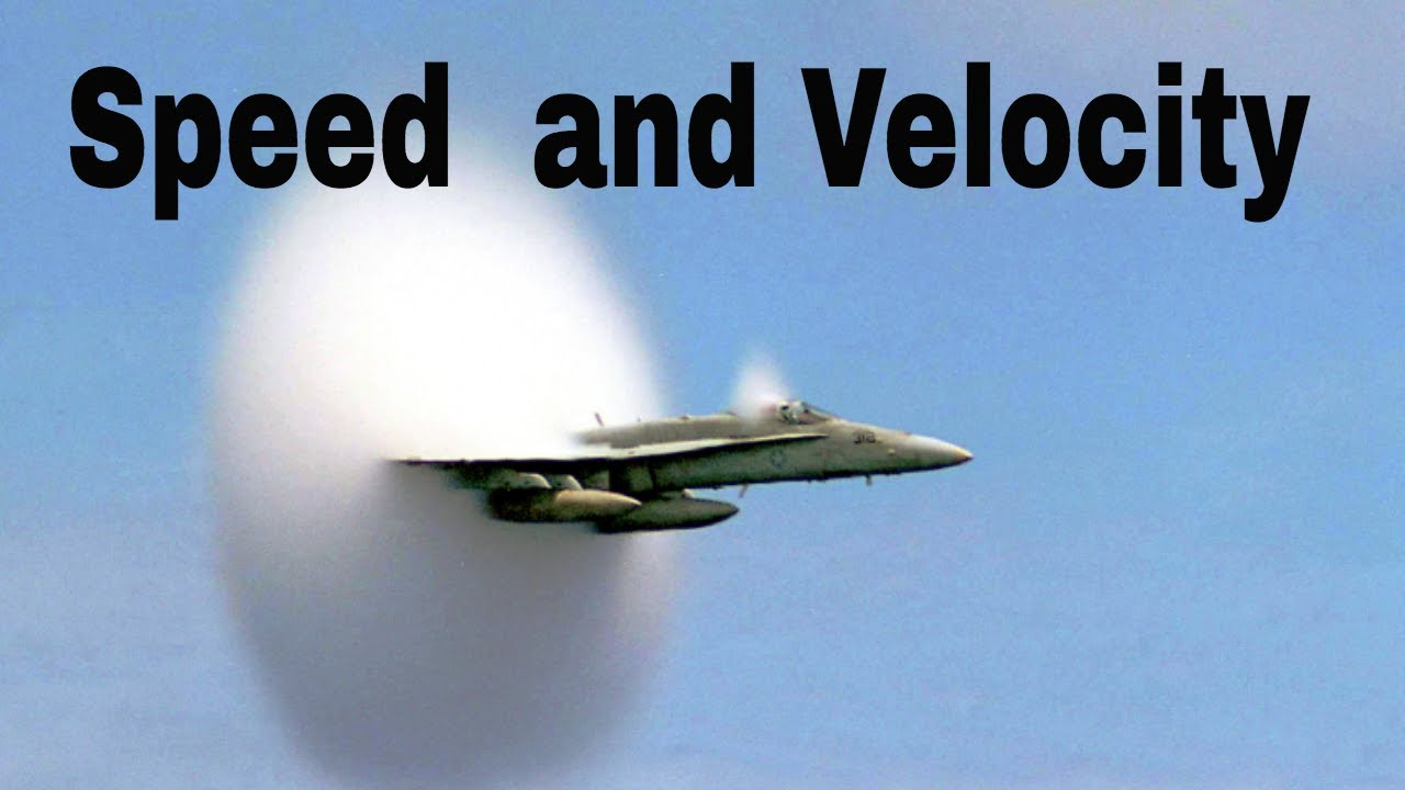 what is speed and velocity in physics youtube