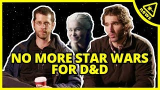 Why the Game of Thrones Creators REALLY Left Star Wars! (Nerdist News w/ Amy Vorpahl)