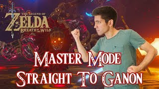 MASTER MODE STRAIGHT TO GANON! Legend of Zelda Breath of the Wild! Come hangout!
