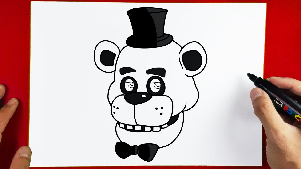How to Draw FREDDY | FIVE NIGHTS AT FREDDY'S