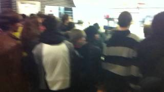 Flashmob beim Mac Donalds in Hassfurt