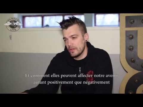 Starset - Interview Dustin Bates - Paris 2015 [HD] - TV Rock Live