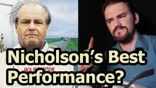 Jack nicholson's best role? about schmidt.
