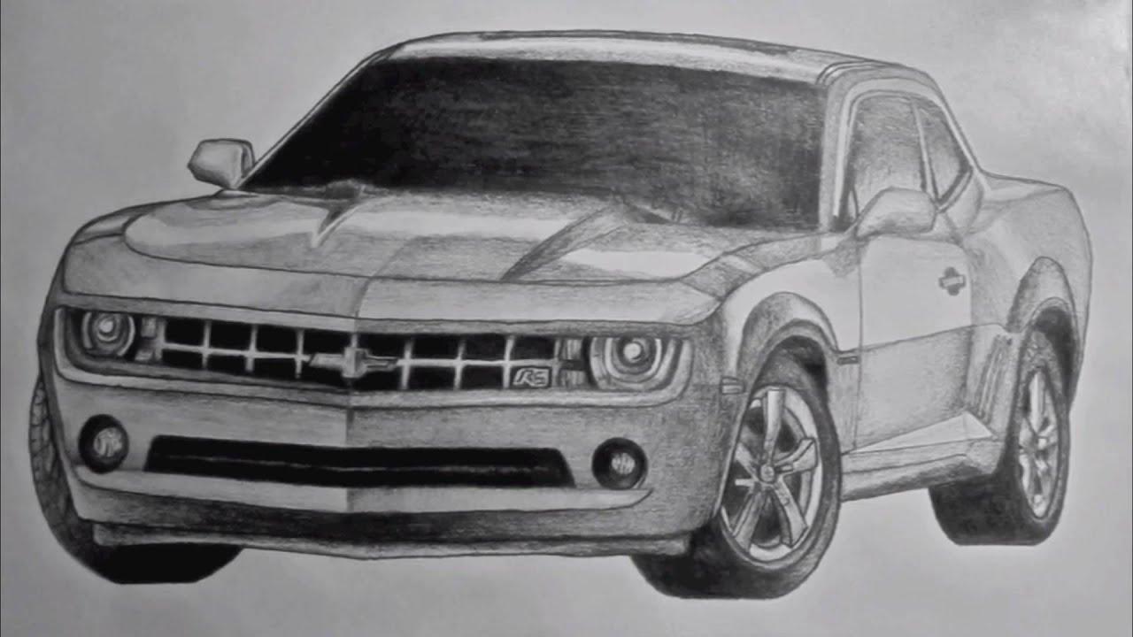 Chevy Camaro Drawing Youtube