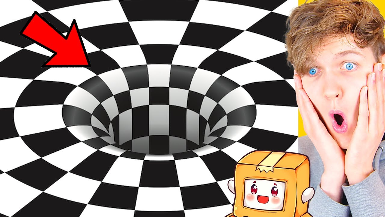 LANKYBOX Reacts To INSANE OPTICAL ILLUSIONS! (THESE WILL BLOW YOUR MIND!)