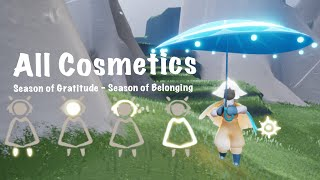 Sky: CotL All Cosmetics + Misc. Items (Season of Gratitude - Season of Belonging)