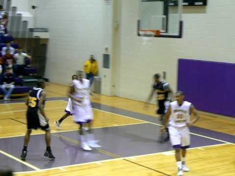 Southside Baptist Christian School's Alex Lubsey...the two hand jam