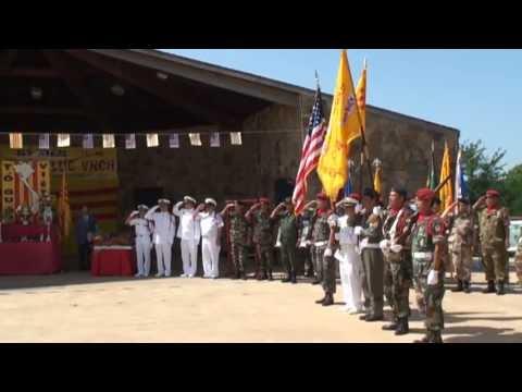 Le khoi cong xay dung tuong dai Viet  My tai Arlington TX June 22 2013