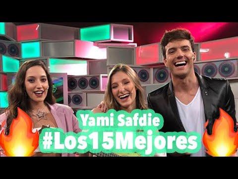 """Yami Safdie  - """"Tan fuerte"""" en vivo en Los 15 Mejores"""