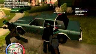GTA Samp Sureños 13 VS Groove Street