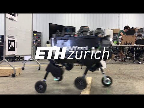 Video Friday: Roller-Skating Quadruped Has Best of Both Worlds Mobility