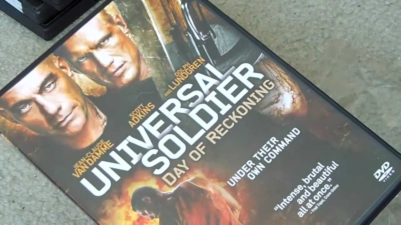 Download Universal Soldier Day of Reckoning 2013 DVD unboxing unwrapping
