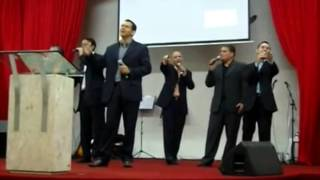 "Acappella Cover ""Sweet Fellowship"" Sexteto Vocal Agape"
