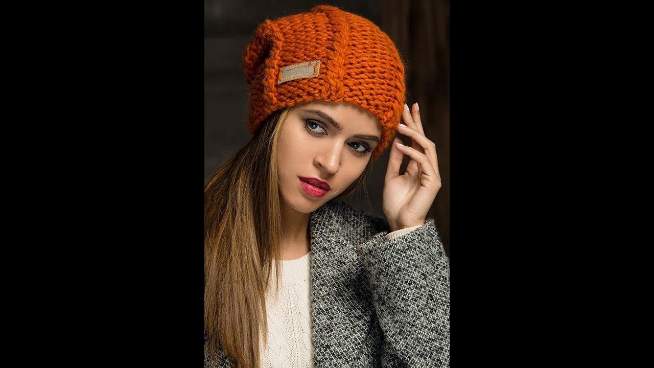 Модные Шапки Спицами - 2019 / Fashion Hats Spokes / Mode ...