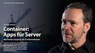 nachgehakt: Was hat es mit Containern, Docker & Co auf sich?