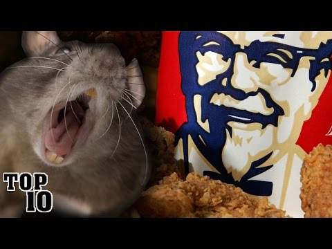 Top 10 Shocking Fast Food Facts