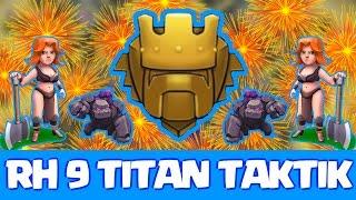 RATHAUS 9 TITAN TAKTIK !! - Lets Play Clash of Clans || PEKKAttack