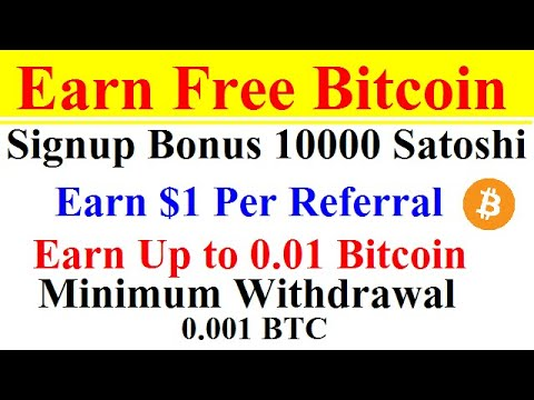 Earn money by investing in bitcoin